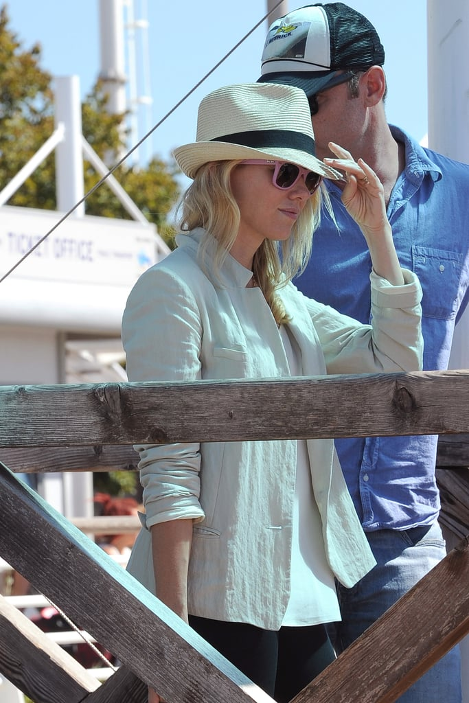 Naomi Watts and Liev Schreiber traveled to Venice together.