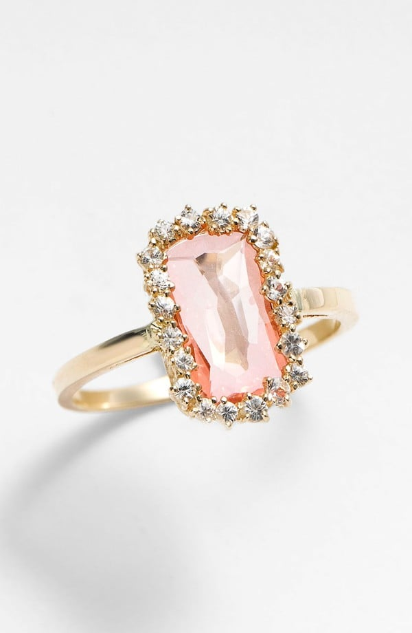 Kalan by Suzanne Kalan Barrel Stone Ring ($880)