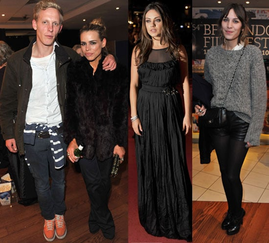 Pictures from 2010 London Film Festival Including Black Swan Premiere and Submarine Premiere