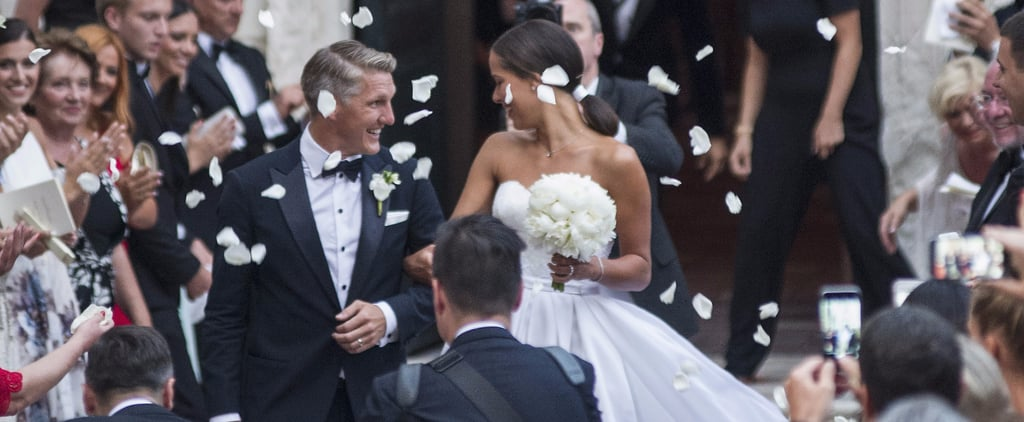 Ana Ivanovic's Second Wedding Dress Was Even More Breathtaking Than Her First
