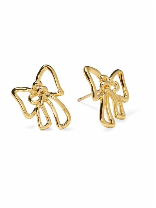 Marc by Marc Jacobs Metal Bow Stud ($38)
