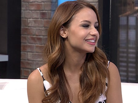 WATCH: Aimee Carrero Dishes on Ashley Tisdale's Return to Young & Hungry