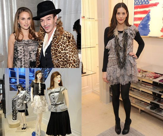Pictures of Leighton Meester, Liv Tyler, Dree Hemingway at Dior Flagship Store Opening