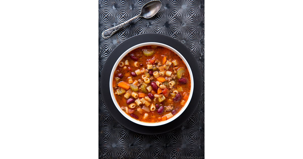 Olive Garden 39 S Pasta E Fagioli 16 Italian Soup Recipes To Get You Through The Chilly Months