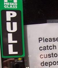 Don't Dump Feces in Trash Sign