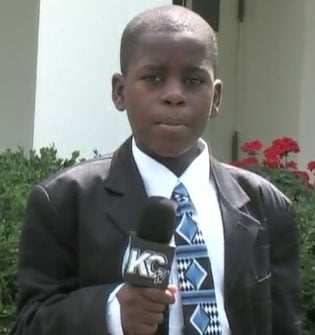 Politikid Damon Weaver Interviews Obama at the White House
