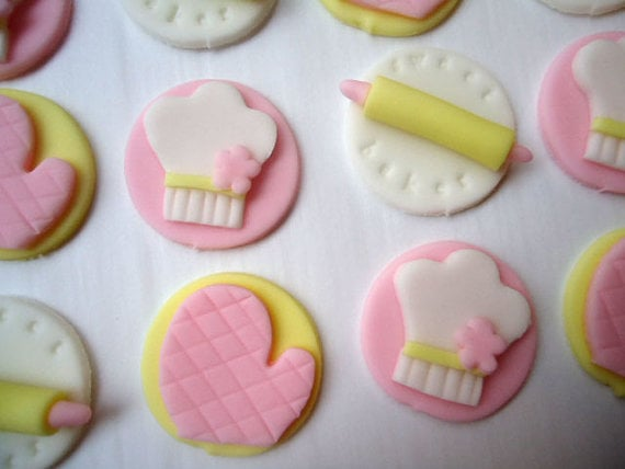 Cakes and Kids Fondant Cake Toppers ($16 For 12)