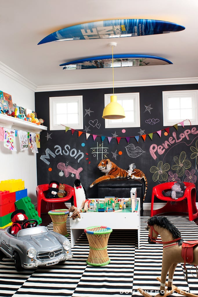 Mason and Penelope Disick's Sleek Playroom