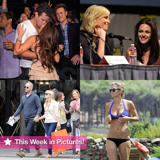 Kristen at Comic-Con, Bar in a Bikini, Kim and Kris's Vegas Weekend, and More in This Week in Pictures!
