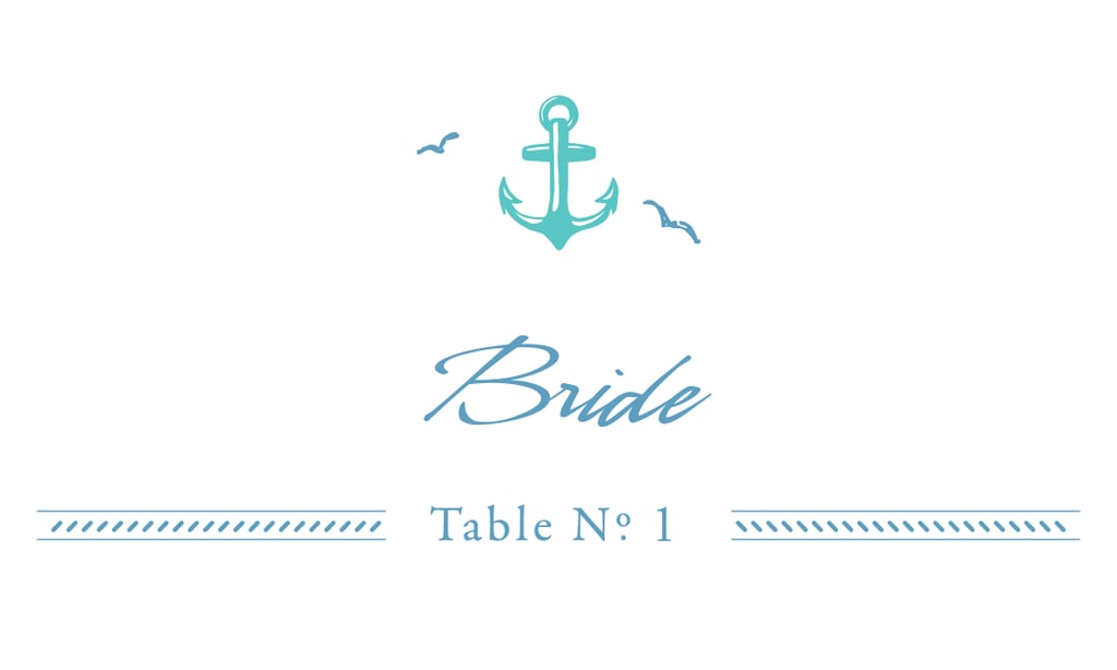 Nautical Place Cards