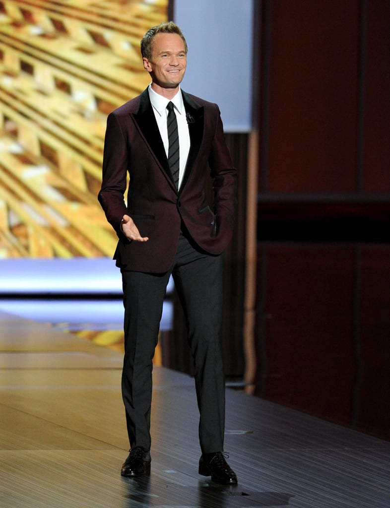 Neil Patrick Harris got some laughs from the audience at the start of the show.