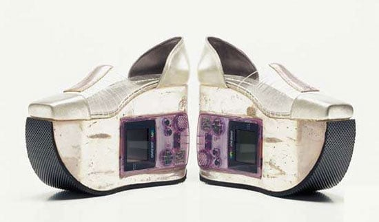 Gameboy Shoes: Geekish or Freakish?