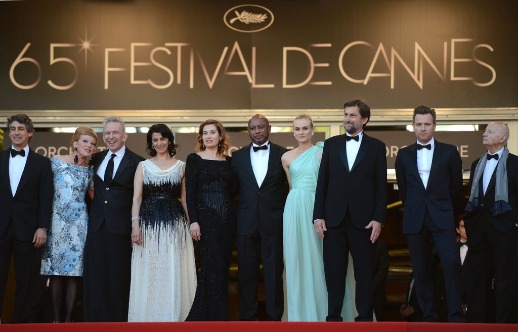 Diane Kruger and the rest of the jury attended the opening of the Cannes Film Festival and premiere of Moonrise Kingdom.