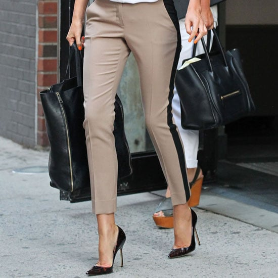 Tuxedo Pants Trend (Celebrity Pictures and Shopping)