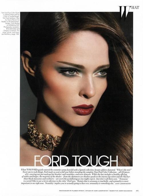 W Magazine October 2011