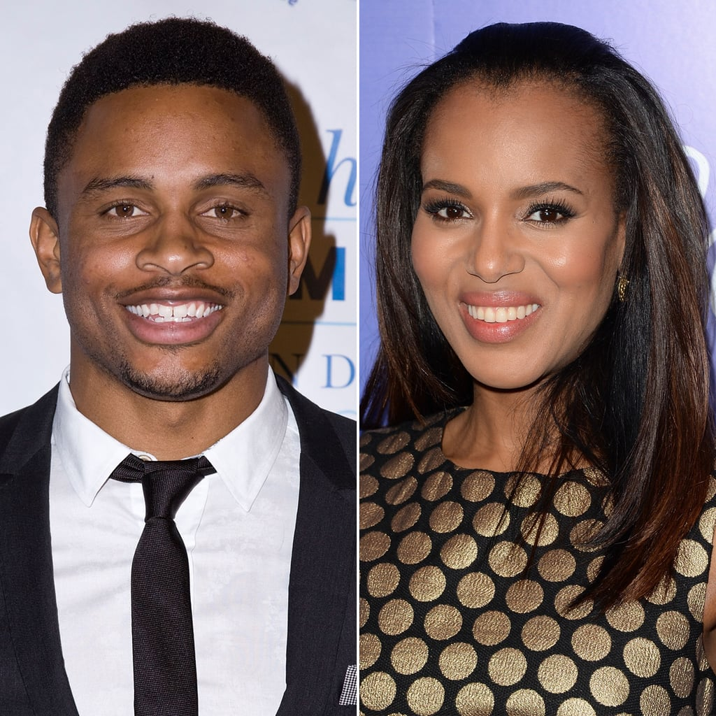 Kerry surprised the world with a secret wedding this Summer. She wed San Francisco 49er Nnamdi Asomugha in a small Hailey, ID, ceremony on June 24.