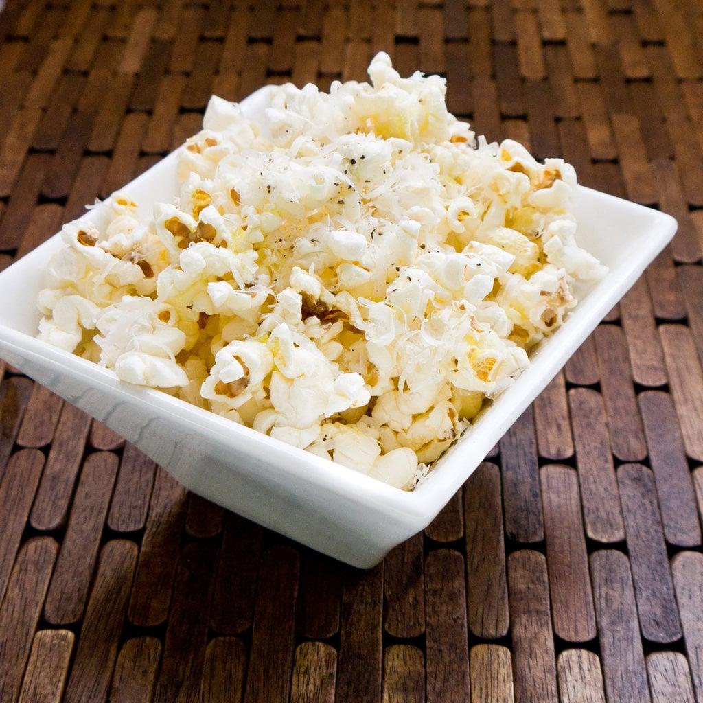 Truffle-Parmesan Popcorn