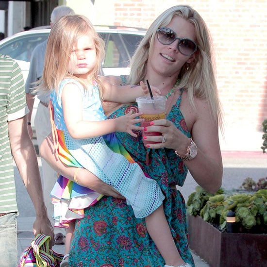 Busy Philipps Shops Abbot-Kinney With Birdie and Marc Silverstein