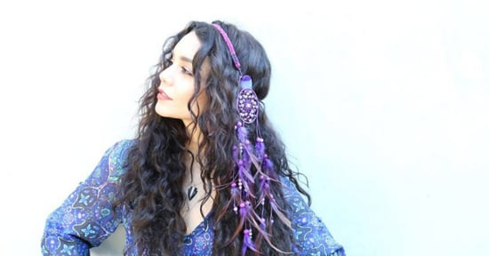 Vanessa Hudgens Put a Dang Dreamcatcher on Her Head