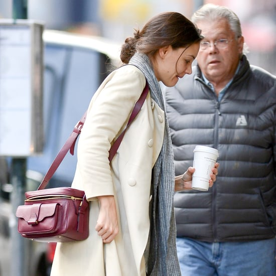 Katie Holmes Carrying Coffee to Go in NYC | Pictures