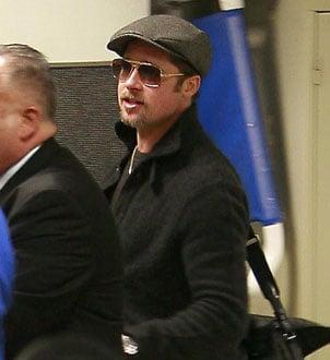 Brad Pitt at LAX