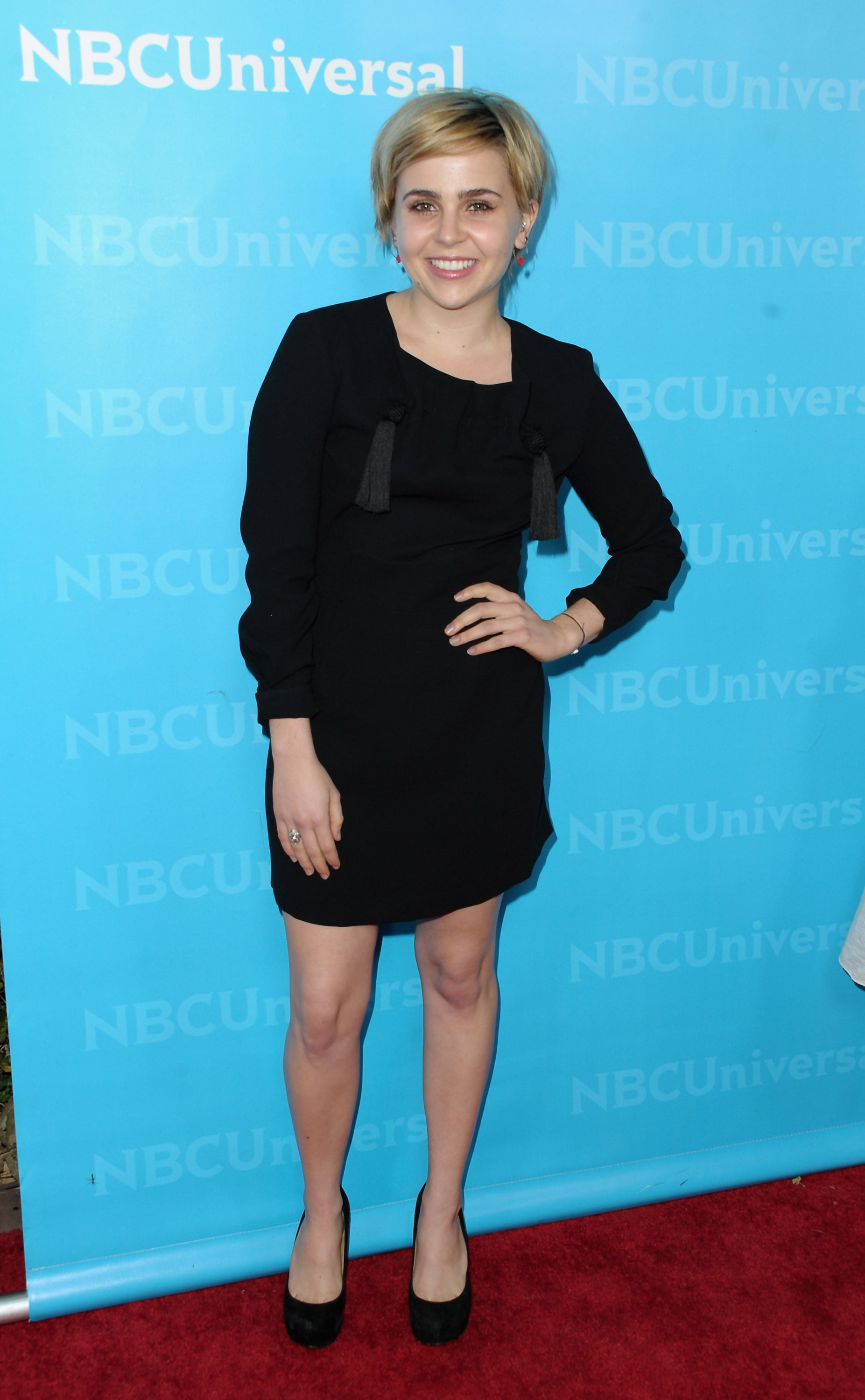 The Lovely Ladies of NBC Gather For a Very Blond TCA Bash