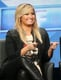 Demi Lovato joked around at the discussion panel for The X-Factor in LA.