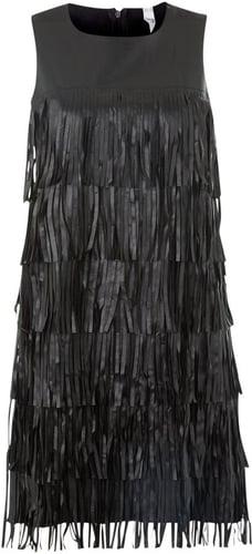 True Decadence Pu tassle tier dress