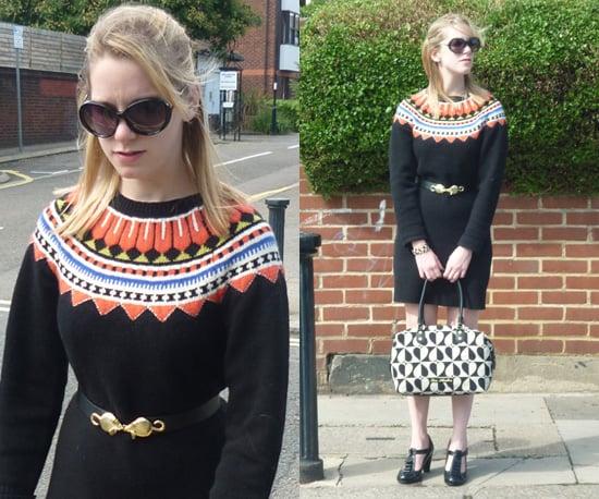 Paul Smith Fairisle Knit Jumper Dress