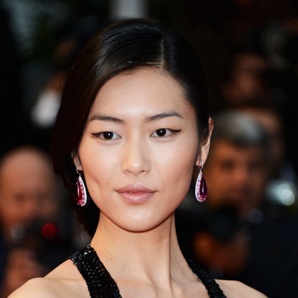 Liu Wen at the Amour Premiere