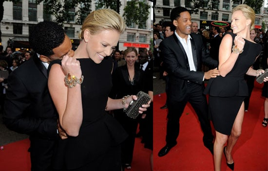 Are Will and Charlize Too Close For Comfort?