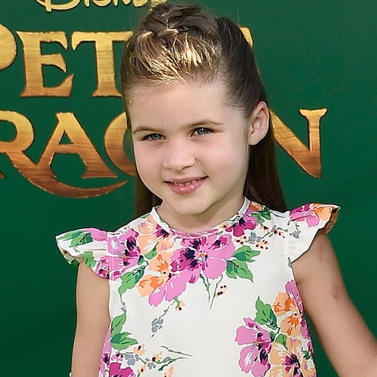 Tiffani Thiessen and Daughter at Pete's Dragon LA Premiere