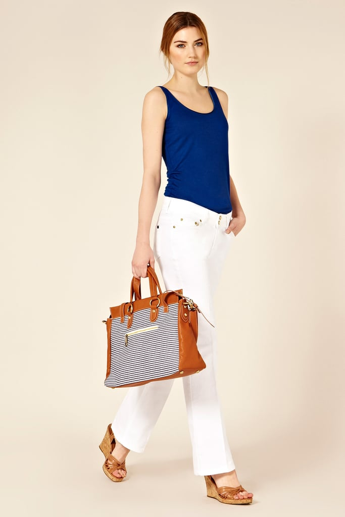 Oasis Long White Scarlet Jeans ($84)
