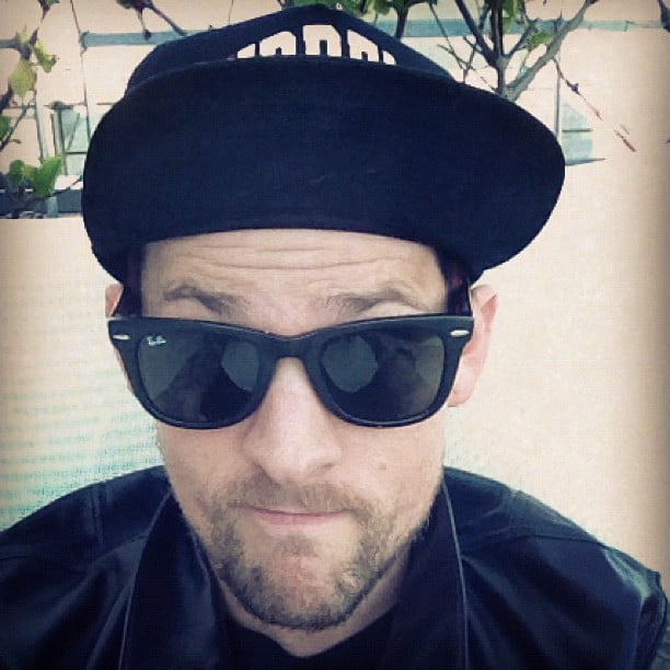 "Joel Madden snapped a self portrait and said he was ""feeling oh so Australian."" Source: Instagram User joelmadden"