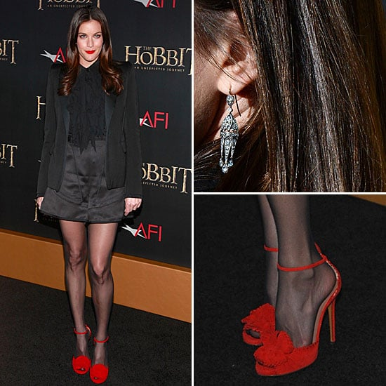 Liv Tyler Wearing Red Heels