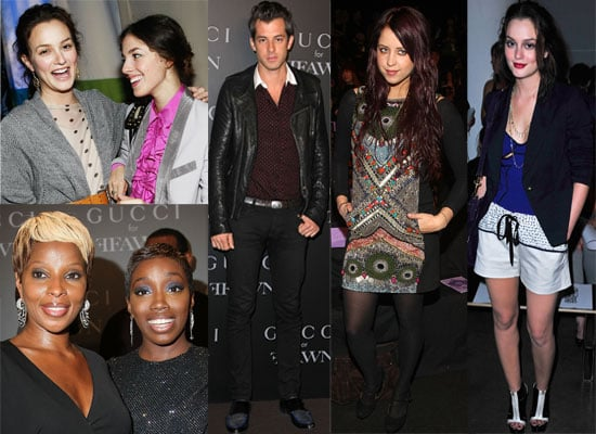 More Photos Of Celebrities Including Leighton Meester At New York Fashion Week