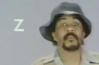 Richard Pryor Recites the Alphabet on Sesame Street