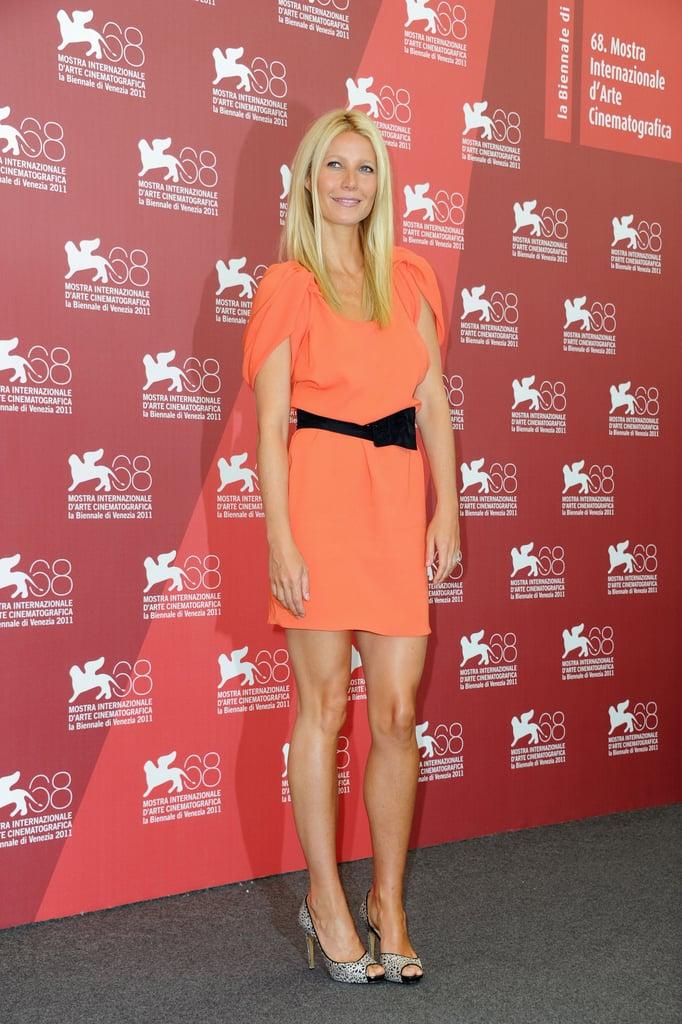 Gwyneth Paltrow wears Prada in Venice.