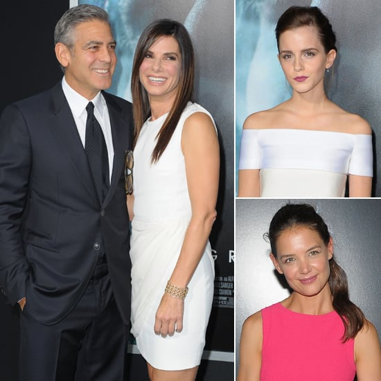 Famous Faces Gravitate Toward George and Sandra's Premiere