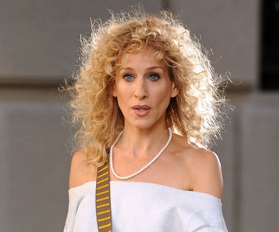 Curly Carrie Then . . .