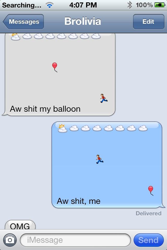 Runaway balloon