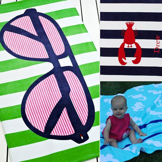 Beach Blanket Bingo: 9 Great Beach Towels For Moms and Kids Alike
