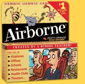 Airborne Class Action Lawsuit