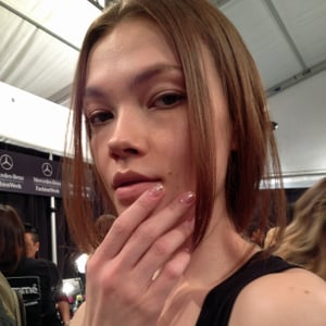 Jenny Packham Hair and Makeup | Fashion Week Fall 2013