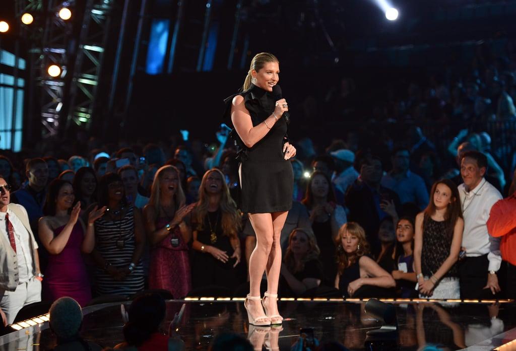 Ke$ha hit the stage at the Billboard Music Awards.