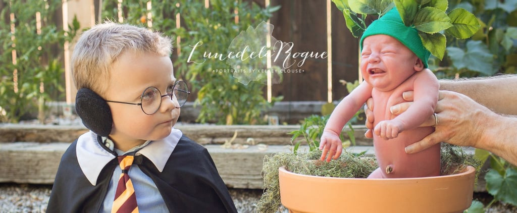 You Can't Deny the Cuteness Overload in This Harry Potter Newborn Photo