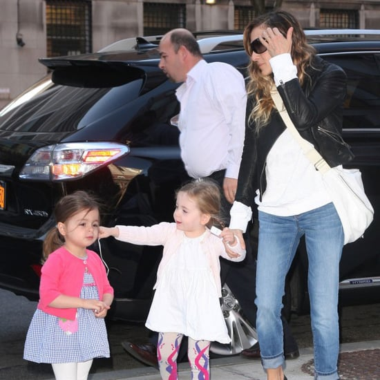Sarah Jessica Parker Pictures With Daughters in NYC