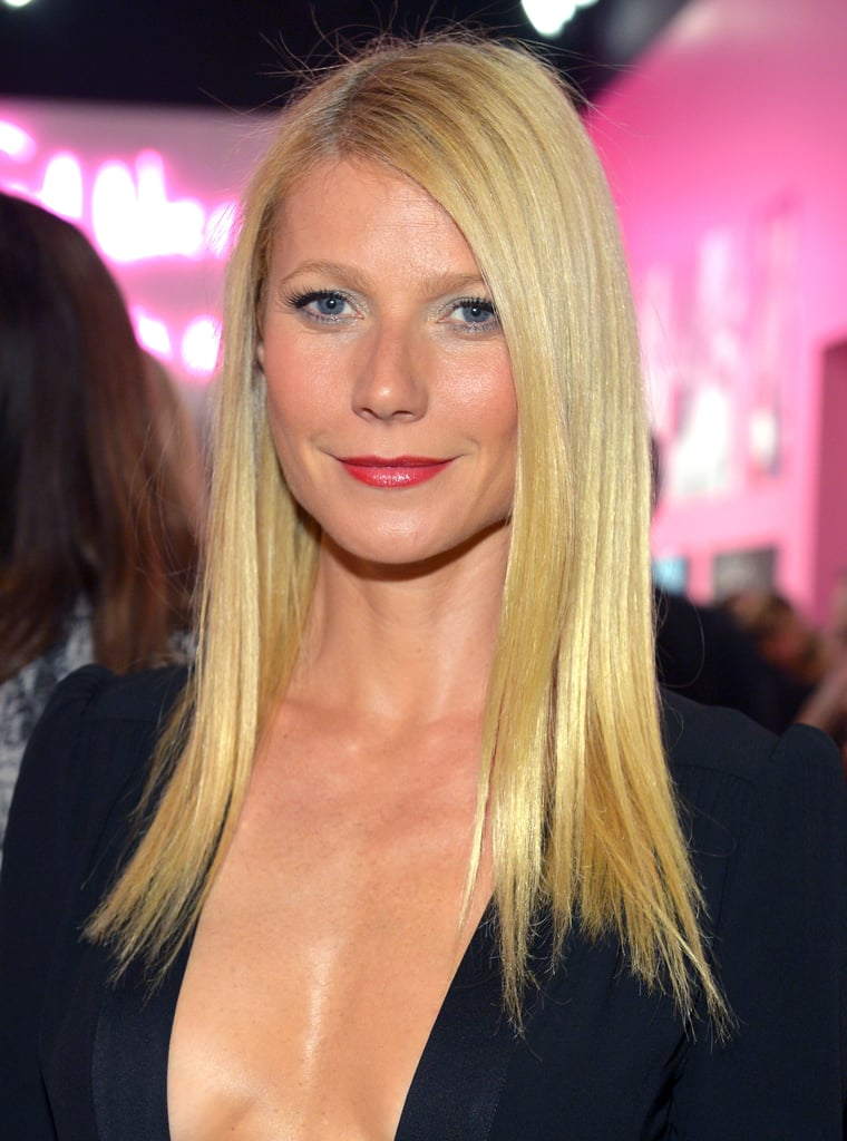 When you think of Gwyneth Paltrow, it's common to immediately think of her blond hair, which she hasn't really changed much over the years.