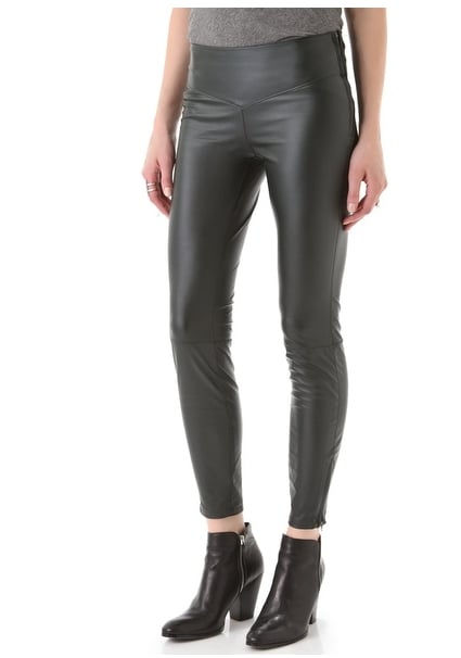 If you're not the dress-wearing type, style up a cool-girl alternative with these Blank denim Faux Leather Leggings ($62, originally $88).