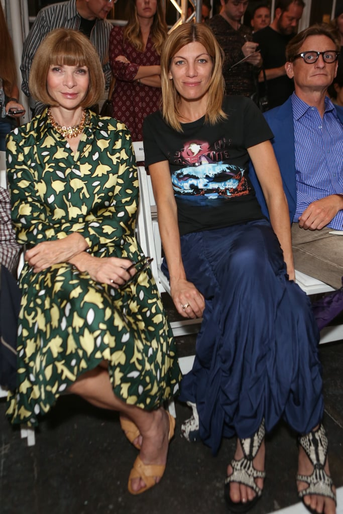 Anna Wintour and Virginia Smith